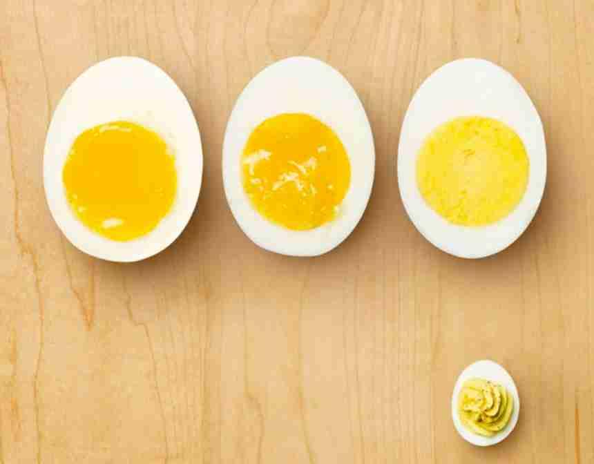 İdeal Haşlanmış Yumurta