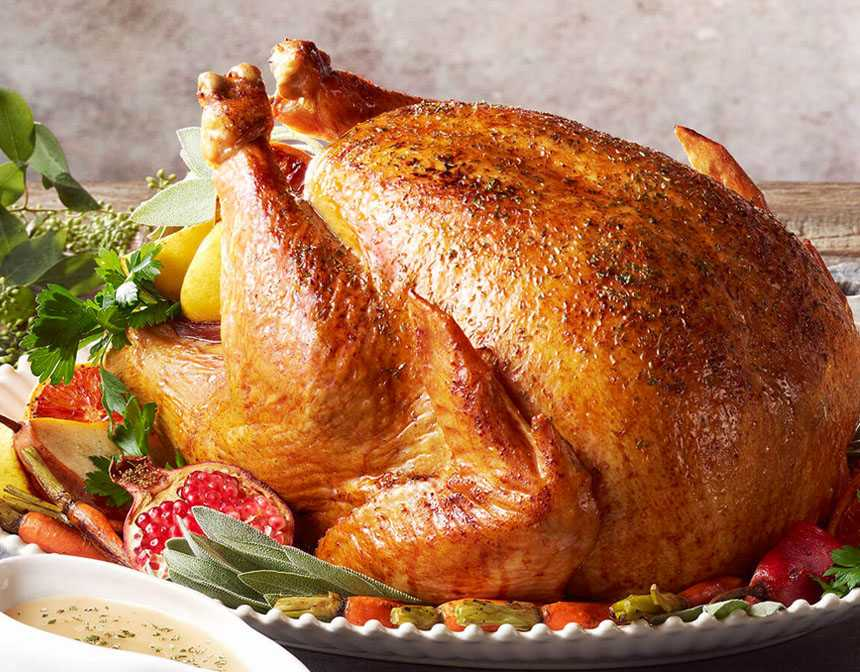 Easy Oven Baked Turkey Recipe