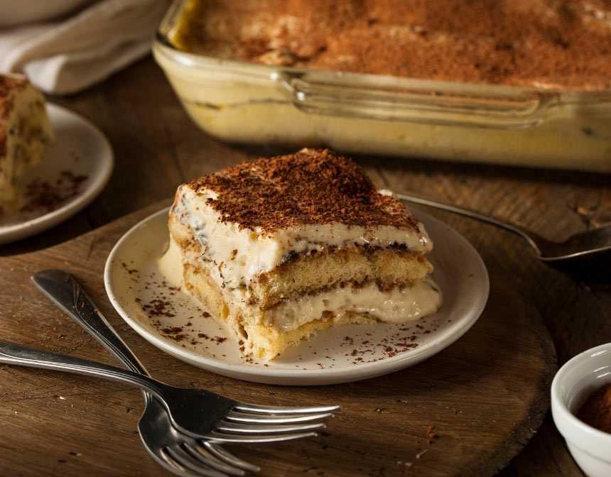 Tiramisu Recipe With Ricotta Cheese.Italian Tiramisu Recipe